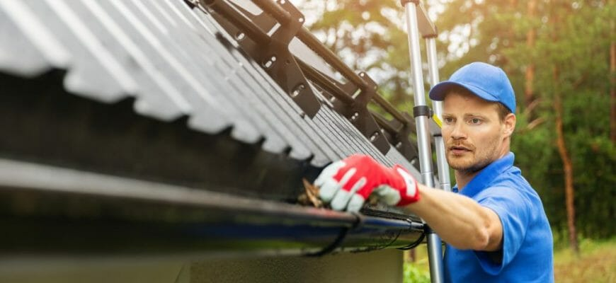 I'm Concerned About Having Strangers On My property To Clean My Gutters – How Do I Mitigate The Risk?